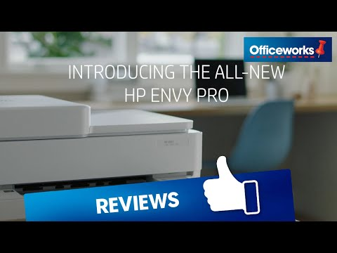 HP ENVY Pro 6400 Printer Unboxing