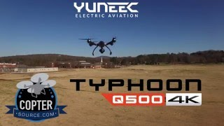 Yuneec Typhoon Q500 4K Drone - Review