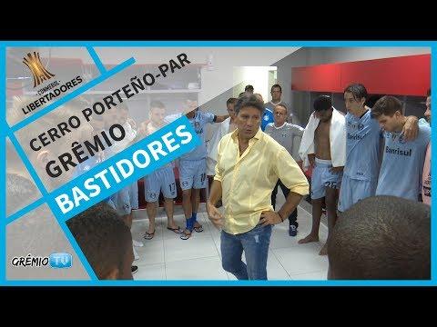 [BASTIDORES] Cerro Porteño-PAR 0x0 Grêmio (Libertadores 2018) l GrêmioTV