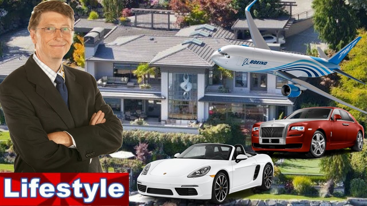 Bill Gates Life Story, Net Worth, Cars, House, Private Jets & Luxurious Lifestyle - YouTube