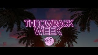 Announcing 'Throwback Week' ????