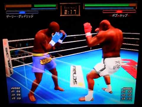 Gary Goodridge vs. Bob Sapp (K-1 Premium Dynamite 2005 PS2)