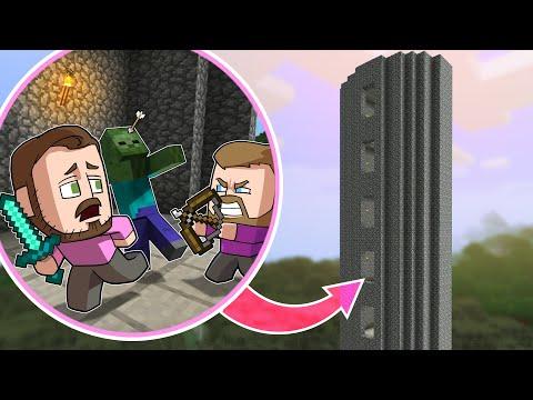 Raiding A Tower Of Enemies! | Minecraft |