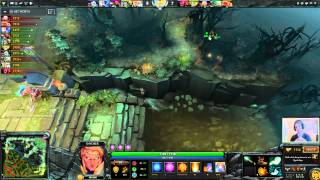 Chessie Dota 2 - 7K+ Invoker commentary gameplay
