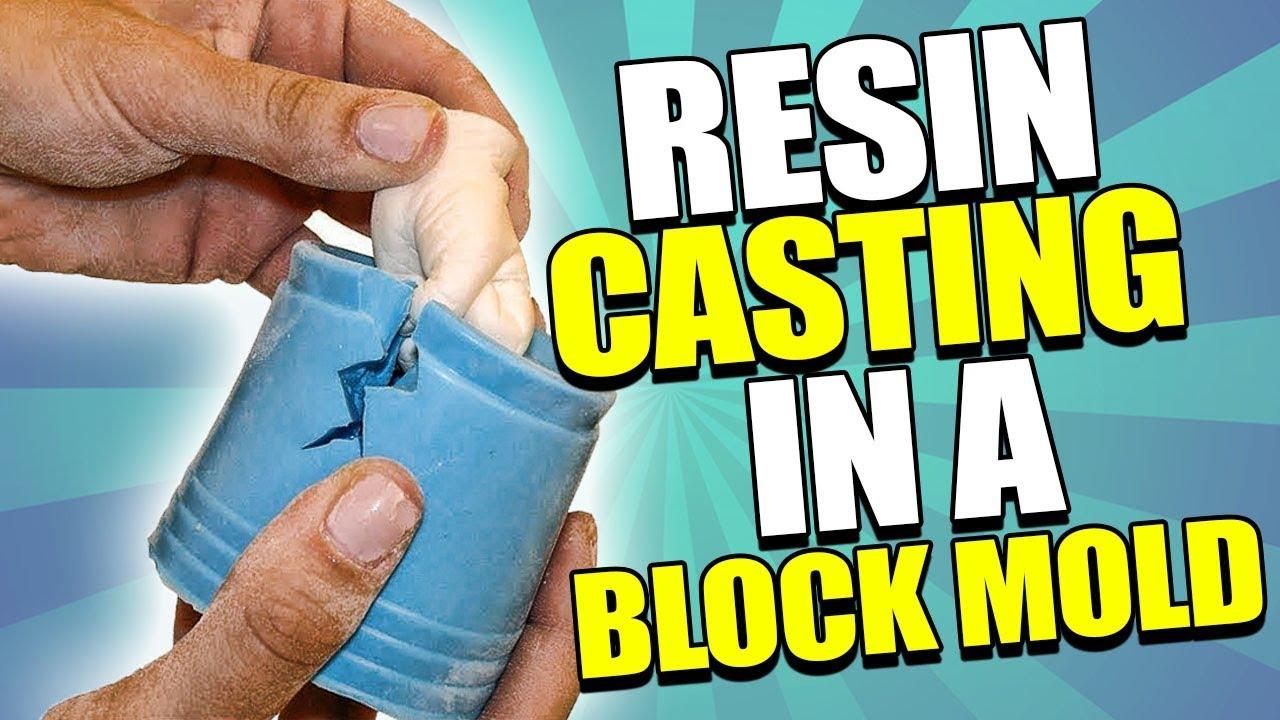 Resin Casting in Block Mold Tutorial