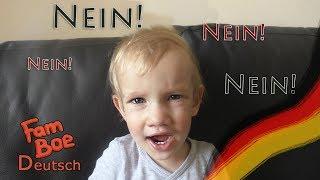 Немецкий для детей. Deutsch mit Ksenia. Nein Nein Nein! Zweisprachige Erziehung