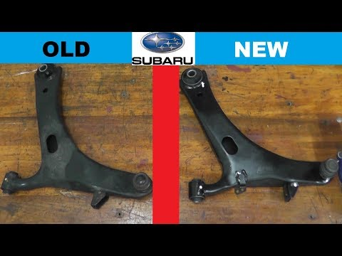 Subaru Lower Control Arm Replacement with BASIC HAND TOOLS