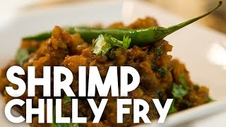 Shrimp Or Prawn Chilli Fry Filling - A Delicious Goan Recipe