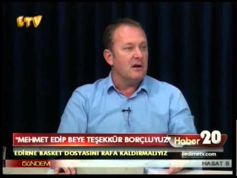 Mehmet Edip Beye Teşekkür Borçluyuz