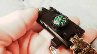 Nifty Survival/Tactical Bracelet