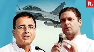 Congress' Randeep Surjewala Challenges PM Narendra Modi After Supreme Court Rafale Verdict