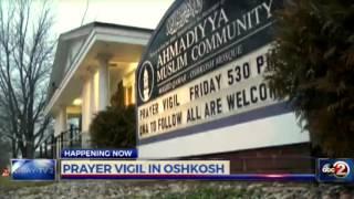 abc: Oshkosh Ahmadiyya Muslims pray for for San Bernardino shooting victims