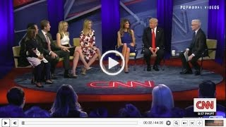 Get to Know Donald Trump's family - MUST SEE INTERVIEW CNN town hall interview 4/12/16