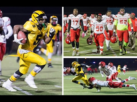 Edmondson Westside vs Reginald F Lewis High School Football 2016