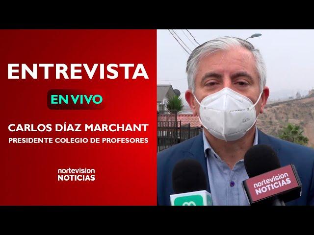 ENTREVISTA CON EL PRESIDENTE DEL COLEGIO DE PROFESORES: CARLOS DÍAZ MARCHANT