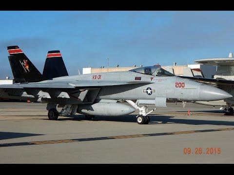 Static Display Videos of Aircraft at Point Mugu Naval Base 2015 Airshow