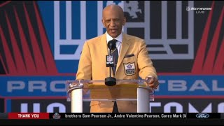 BREAKING Drew Pearson named as Pro Football Hall of Fame in Class of 2021 Enshrinement