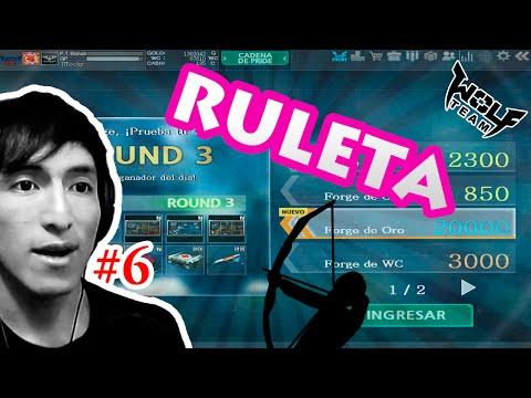 Wolfteam Latino | Ruleta de Item #6 (Item Forge Gold) 2016