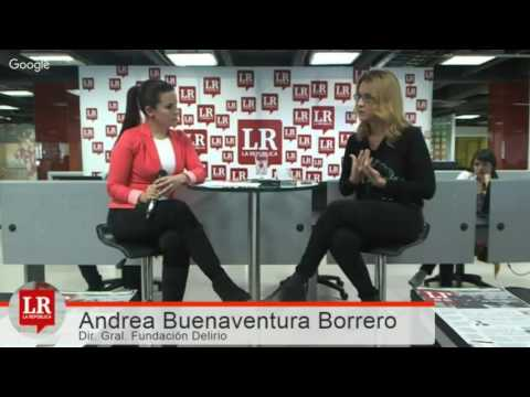 Andrea Buenaventura Borrero  / Directora General Fundación Delirio