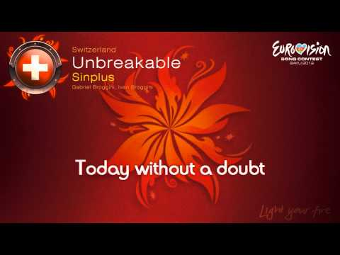 "Sinplus - ""Unbreakable"" (Switzerland) - [Karaoke version]"