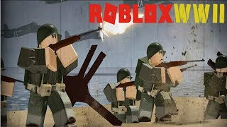FIGHT ON THE BATTLEFIELD!. CALL OF DUTY WW II in ROBLOX #4