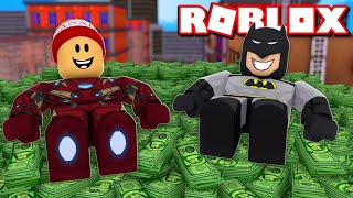 How to make a LOT of MONEY in Superhero Simulator! → Roblox superhero simulator 🎮