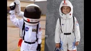 Disfraces de astronautas faciles