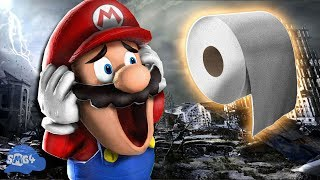 SMG4: Mario Runs Out Of Toilet Paper