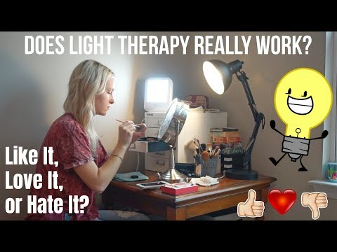 LIGHT THERAPY LAMP – Verilux Happy Light ~ LIKE IT, LOVE IT, OR HATE IT? – UNBOXING & REVIEW