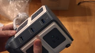 BESTEK 8-Outlet Power Strip and 40W 6-Port Smart USB (Surge Protector)