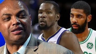 Charles Barkley Says Kevin Durant & Kyrie Irving Are TOO SOFT To Play For The Knicks!