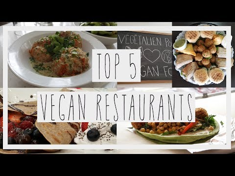 Top 5 BEST Vegan (friendly) Restaurants in Montreal