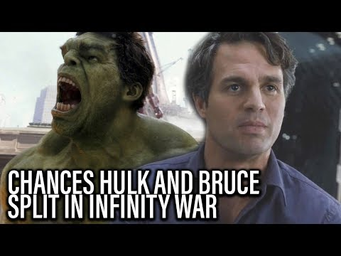 Chances Hulk And Banner Get Separated In Avengers Infinity War - TJCS Companion Video