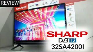 Review LED TV SHARP 32SA4200I DIGITAL TV indonesia HD
