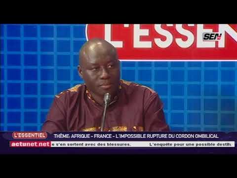 L'ESSENTIEL France Afrique : Momar Diongue