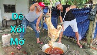 Hữu Bộ | Dê Treo Chảo Dầu Nguyên Con | Fried Goat