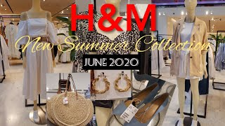 H M JUNE2020 COLLECTION NEW IN H M SUMMER COLLECTION H M WOMEN S FASHION 2020 VIRTUAL SHOPPING
