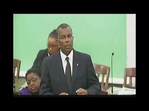 Honourable Fred Mitchell, MP ~ University of The Bahamas Bill Contribution