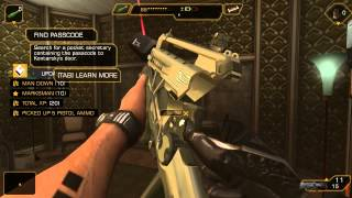 Deus Ex The Fall gameplay PC and iPhone game