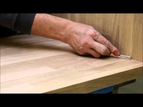 samling af køkkenbordplade