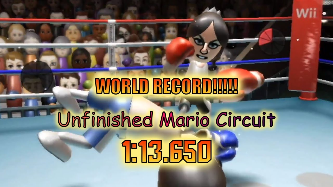 【MKW CT WR】 Unfinished Mario Circuit - 1:13.650