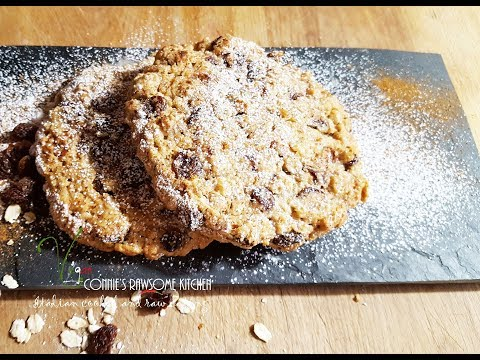 BEST VEGAN RAISIN OATMEAL COOKIES IN THE WORLD  | Connie's RAWsome kitchen - BLOOPERES