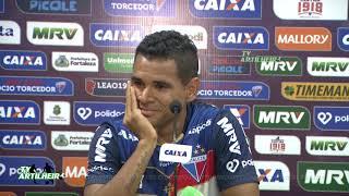 [Série B '18] Coletiva Éderson   Pré-jogo Oeste FC/SP X Fortaleza EC   TV ARTILHEIR⚽
