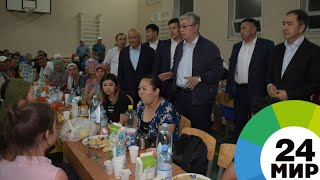 Токаев пообещал, что дома города Арысь восстановят за счет бюджета