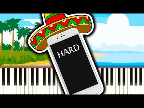 iPhone Ringtone Samba - Piano Tutorial
