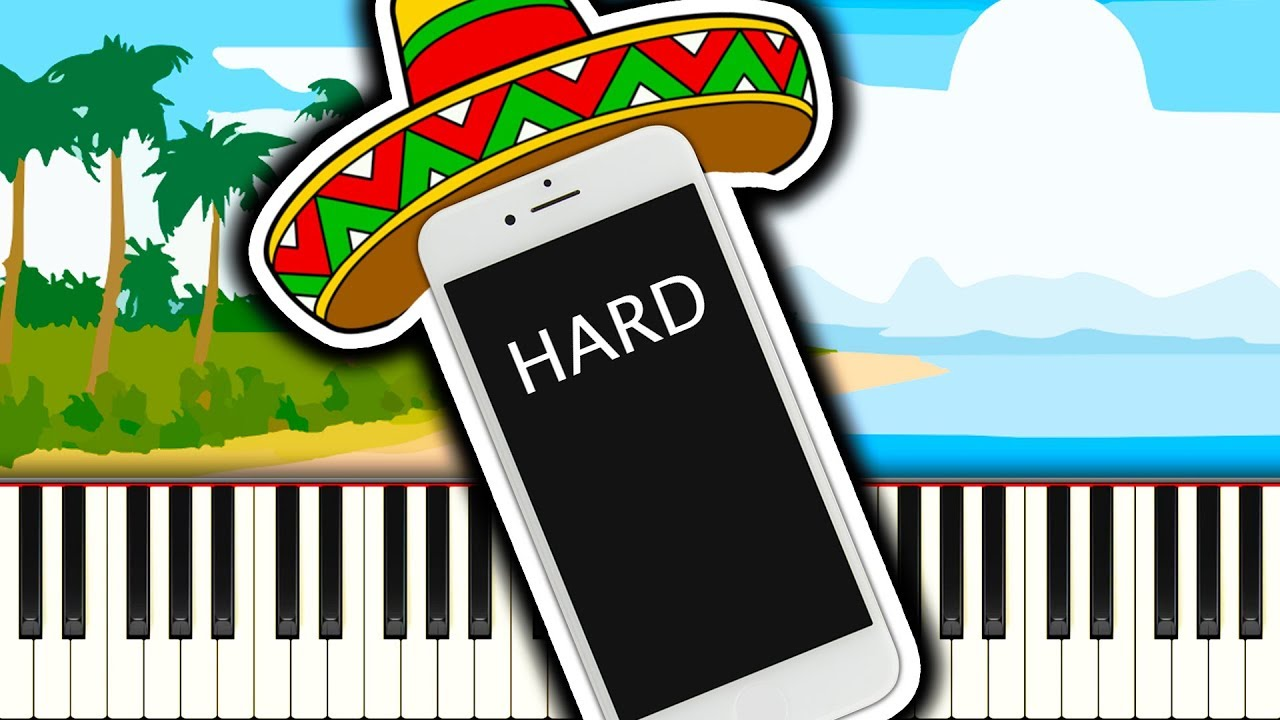 iPhone Ringtone Samba - Piano Tutorial - Sheet Music Boss