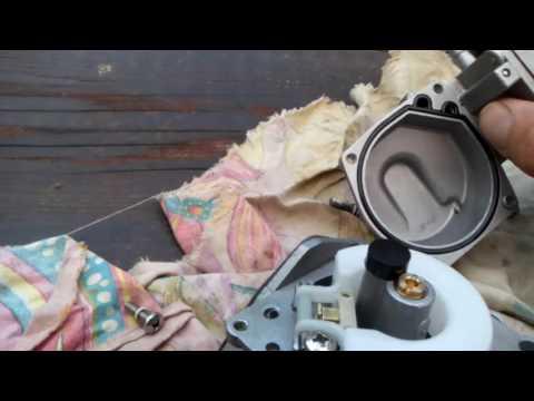 чистка карбюратора лодочного мотора