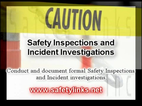 Safety Inspections and Incident Investigations Course
