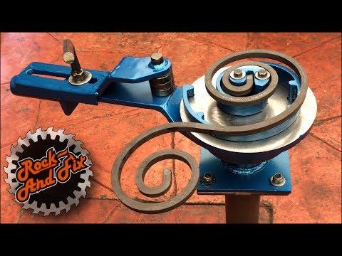 Dobladora para Figuras de Herrería / Metal Scroll Bender