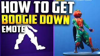 HOW TO GET / CLAIM BOOGIE DOWN EMOTE! (How to Enable 2FA in FORTNITE)